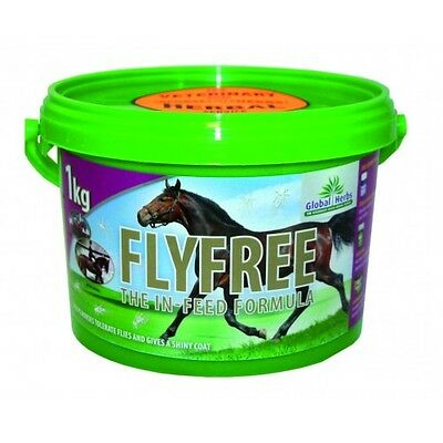 Global Herbs FlyFree 1kg - Free P&P - Fly Free Horse Supplement