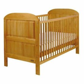 Solid pine convertible bed