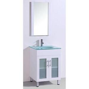 24 White Bathroom Vanity 24 bathroom vanity | ebay