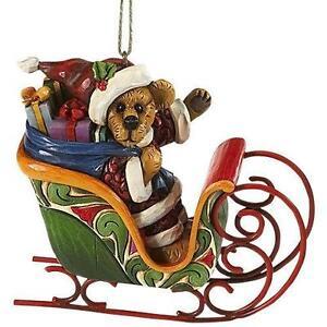 jim shore christmas sleigh - Christmas Sled