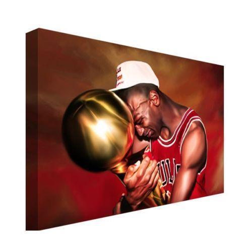 Michael Jordan Canvas Paintings