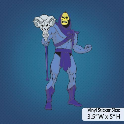 Skeletor / He-Man / Version A / Decal / Sticker