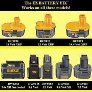Dewalt 18V Battery Repair