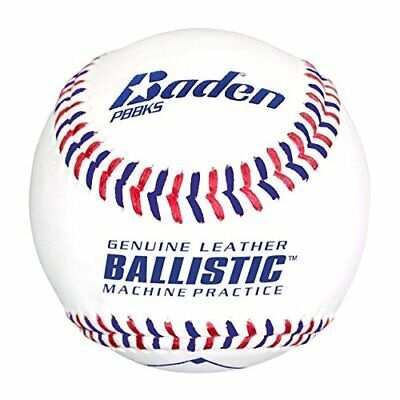 Baden Ballistic Leather Pitching Machine Baseballs,