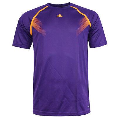 Adidas Climalite Short Sleeve Tee (Adidas Performance Samba Climalite Mens Short Sleeve Tee T-Shirt F81797 UA40)