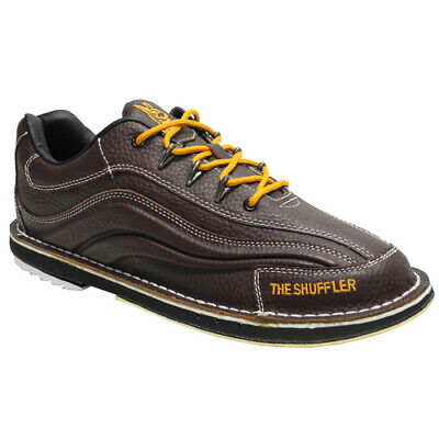 3G Dyno-Thane Shuffler Men's Brown Leather Right Handed Bowling Shoes Size 8.5