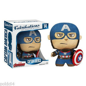 Avengers Alter d'Ultron Fabrikations Stofftier Captain America Figürchen 14