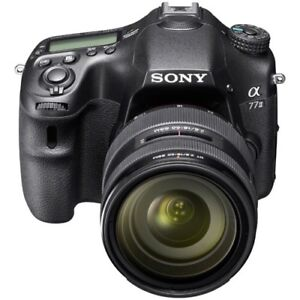 Sony A77ii camera and 7 lens