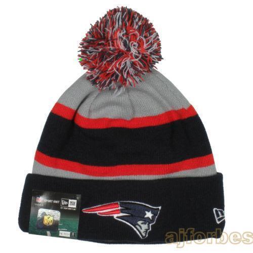 ... Cuffed Knit Hat  more photos 333a0 810b7 Patriots New Era Knit eBay   amazing price fcb5d 91a17 Ladies New Era Toasty Pom ... b8efab40c