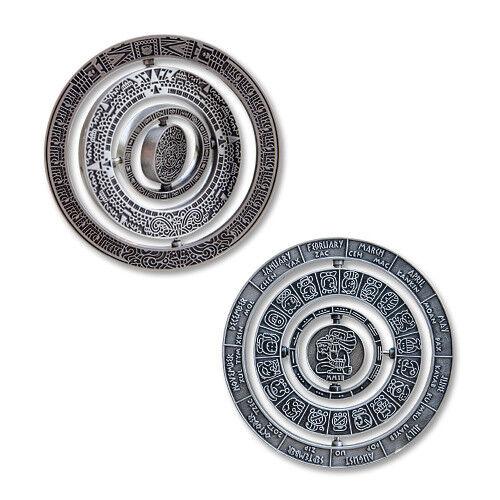 Mayan Spinner Challenge Coin