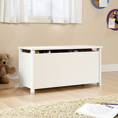Boys & Girls Toy Chest Box White ...