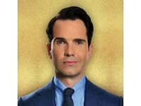 JIMMY CARR - HACKNEY EMPIRE - 1st NOV 2016 - 2 TICKETS - FRONT ROW STALLS!! ROW A - £110 FOR PAIR
