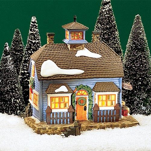 CHOWDER HOUSE  # 56571  DEPT 56 RETIRED NEW ENGLAND VILLAGE