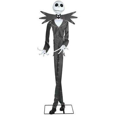 GEMMY Jack Skellington Animated Spirit Halloween Prop Nightmare Before Christmas