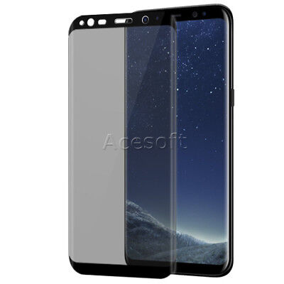 Used, For C Spire Samsung Galaxy S8 Plus G955U Phone Privacy Screen Protector Film USA for sale  Diamond Bar