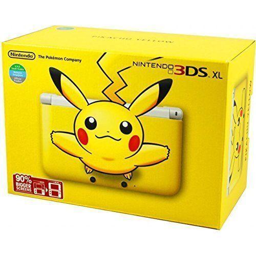 Nintendo 3ds Xl - Yellow Pikachu Edition + 1 Pokemon Game