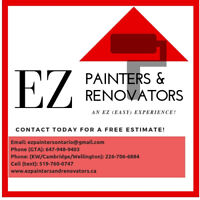 LOOKING FOR PAINTER/HANDYMAN/SUBCONTRACTOR IN GUELPH KW AREA