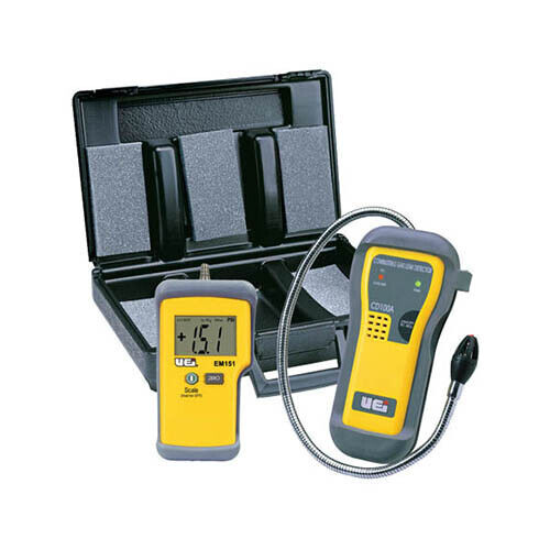 UEi LPKIT Leak and Pressure Test Kit, incl. CD100A, EM152, Carry Case