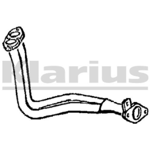 1x KLARIUS OE Quality Replacement Exhaust Pipe Exhaust For OPEL, VAUXHALL Diesel