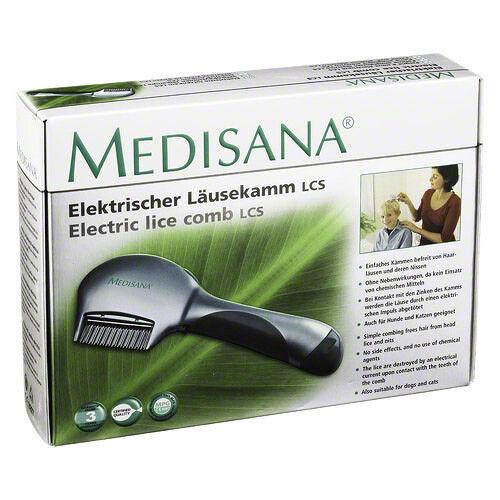 MEDISANA elektrischer Läusekamm LCS 1St PZN 04034473