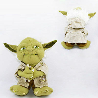 Popular Toys & Hobbies Star Wars Yoda 20cm Genuine Soft Stuffed Plush Doll Toy