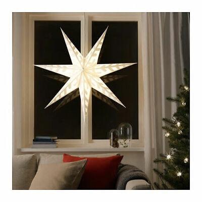 Star Pendant Light Shade, Snowflake White Large 100cm Wedding  ()