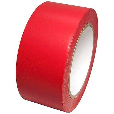 Red Vinyl Tape 2 Inch X 36 Yd. 1 Roll. Spvc