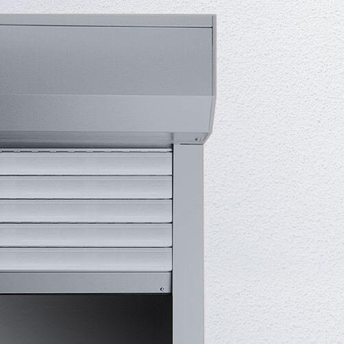 PVC Vorbaurolladen eckig auf Maß | Rollladen Vorbaurollladen Rolladen | 53 €/m²