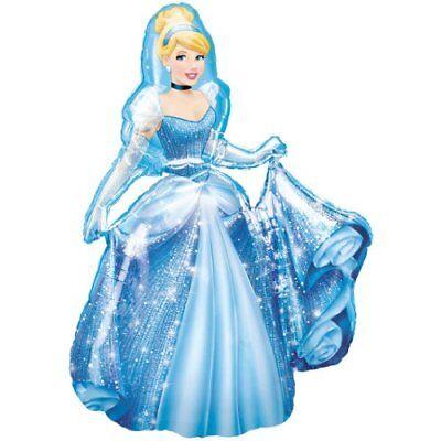 Disney Cinderella Airwalker Folienballon 121 cm NEU &OVP ()
