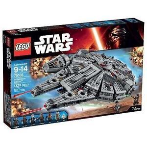 NEW LEGO STAR WARS MILLENIUM FALCON - 113617546 - MILLENNIUM FALCON - THE FORCE AWAKENS