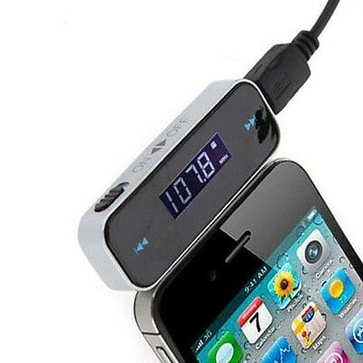 Car Wireless FM MP3 FM Transmitter HandsFree For iPhone 4 5 6 iPod Samsung Htc