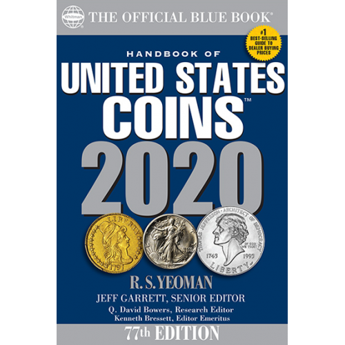 2020 BLUE BOOK HANDBOOK OF UNITED STATES COINS 77TH EDITION NEW FREE SHIPPING!