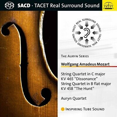 PRE-ORDER Mozart / Auryn Quartet - String Quartets 465 & 458 [SACD New]