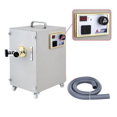 550W Dental Digital Double Impeller Dust Collector Artificer Room Vacuum Cleaner
