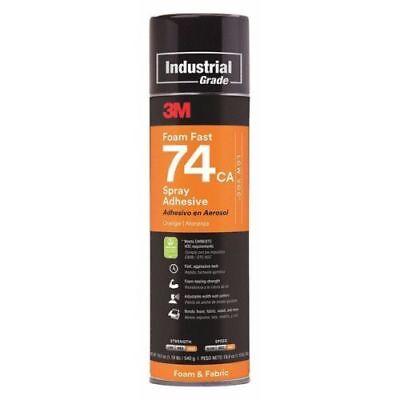 3m Foam Fast 74 Spray Adhesive Orange 24 Oz Aerosol Can Pack Of 3