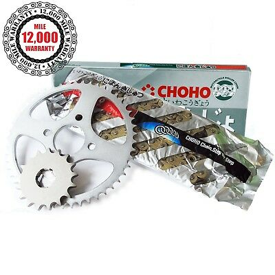 <em>YAMAHA</em> XS500 C CW 1980  X RING GOLD DRIVE CHAIN AND SPROCKETS KIT