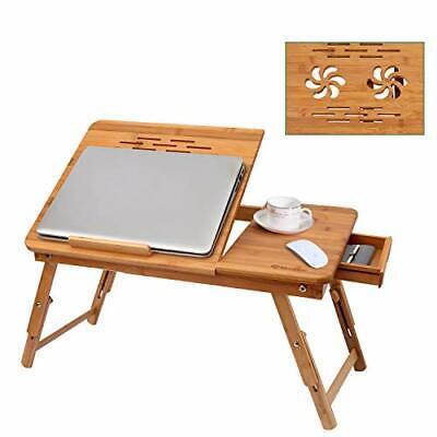 BATHWA Laptoptisch Notebooktisch Betttisch Lapdesks für Lesen oder