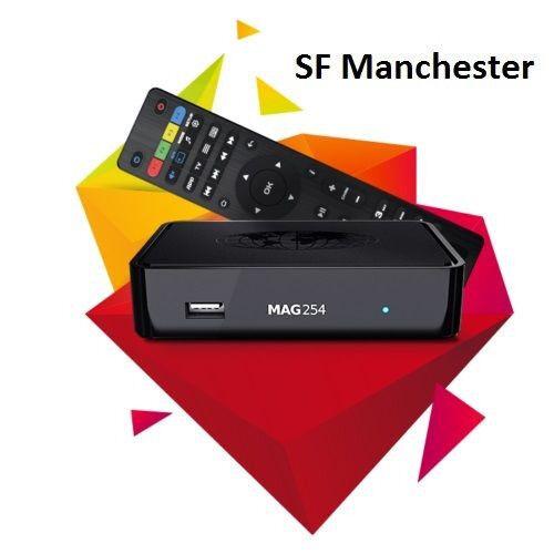 New Faster Infomir MAG254 Digital HD TV Media Streamer Original Linux IPTV Box
