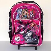 Monster High Rolling Backpack
