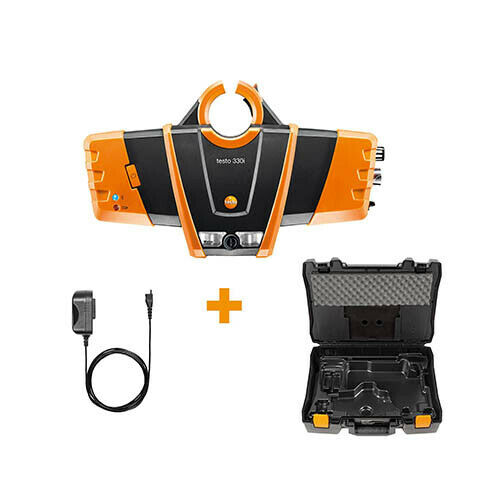 Testo 330i-LX-KIT3 (0563 3000 72) Bluetooth Combustion Analyzer Kit 3