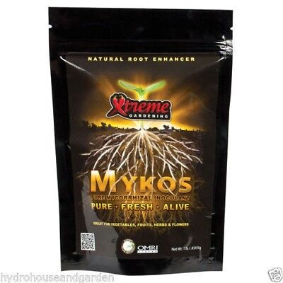 Xtreme Gardening Mykos Pure Mycorrhizal 3.5 oz Mykos Mycos extreme 100 (Extreme Garden)