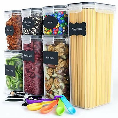 Chef's Path Airtight Food Storage Container Set - 7 PC - Kitchen & Pantry