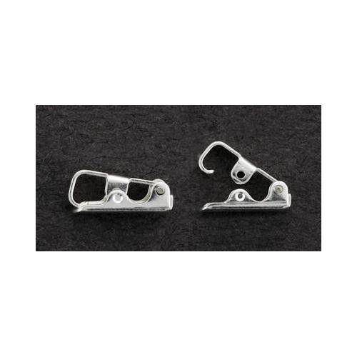 Solid Sterling Silver Bracelet Fold Over Clasp for finishing bracelet