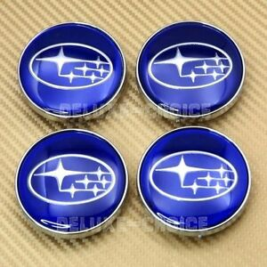 Subaru 4Pcs Centre Hub Cap 55 MM