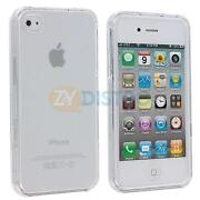 Crystal Clear Hard New Case Cover for Apple iPhone 4S