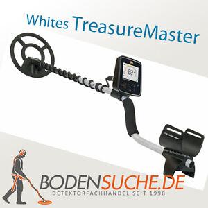 Whites TreasureMaster Metalldetektor Wetterfest -  Neu vom Detektorfachhandel