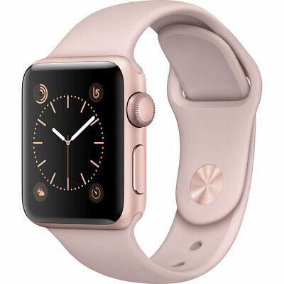 Apple Watch Series 1 38mm Rose Gold Aluminium Pink Sport Band