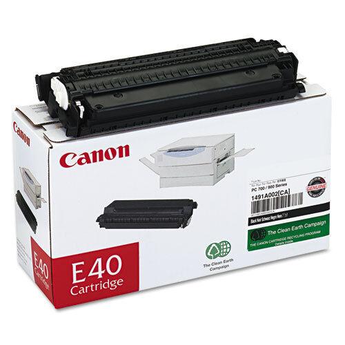 New Genuine Factory Sealed Original OEM Canon E40 Laser Toner Cartridge DAMAGE