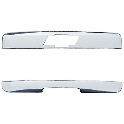 For 07-14 Chevy Tahoe+Suburban Chrome Top Liftgate Molding+Tailgate Handle Cover