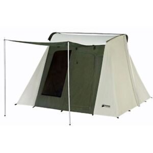 Kodiak Canvas Tent - 6051 Six-Person 10 x 10 Ft. Tent - Hydra-Shield